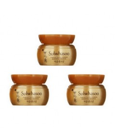 *5ml x 3 กระปุก* Tester : SULWHASOO Concentrated Ginseng Renewing Cream EX