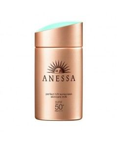 Pre-order : Anessa Perfect UV Sunscreen Skincare Milk SPF50+ PA++++ 60ml.
