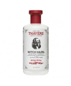 Pre-order : Thayers Witch Hazel Aloe Vera Formula Alcohol-Free Toner ~ Rose Petal 355ml.