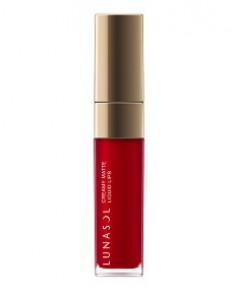 *พร้อมส่ง* ลดกว่า 60 เปอร์ : LUNASOL Creamy Matte Liquid Lips ~ no.03 Cranberry Red (NO BOX)