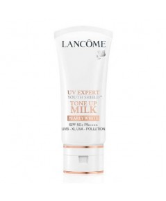 Pre-order ลด 40 เปอร์ : Lancome UV Expert Youth Shield™ Tone Up Milk SPF50 PA++++ Pearly White 30ml.