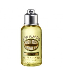 Tester : L\'Occitane ALMOND SHOWER OIL 75ml.