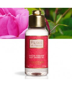 Tester : L\'Occitane ROSES ET REINES SILKY SHOWER GEL 75ml.