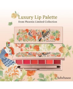 Pre-order : Sulwhasoo Luxury Lip Palette Phoenix Limited Collection