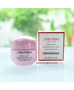 Tester : Shiseido WHITE LUCENT  Brightening Gel Cream 15ml.