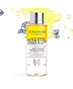 *พร้อมส่ง* L\'occitane ESSENTIAL CLEANSERS BI-PHASIC EYES MAKE-UP REMOVER 100ml.