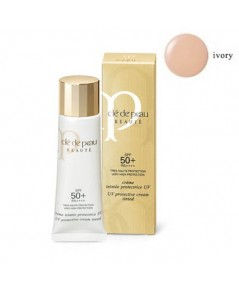 Pre-order : *ฟรี EMS* Cle De Peau UV Protective Cream Tinted SPF 50+ PA++++ 30ml. ~ IVORY
