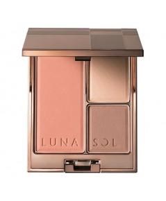 *พร้อมส่ง* ลดเกือบ 60 เปอร์ : Lunasol Modeling Face Compact 12g. NO BOX