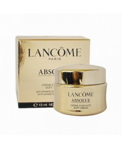 Tester :  Lancome Absolue Soft Cream With Grand Rose Extracts 15ml.