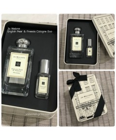 Pre-order : Jo Malone English Pear Duo Box Set 100ml + 9ml