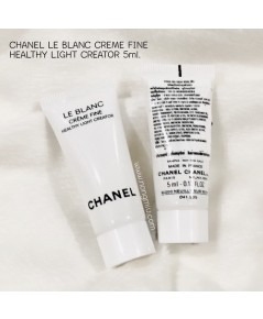 *5mlx3 หลอด* Tester : CHANEL LE BLANC CRÈME FINE HEALTHY LIGHT CREATOR