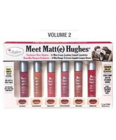 Pre-order : The Balm Meet Matte Hughes 6 Mini Long Lasting Liquid Lipstick (vol.2)