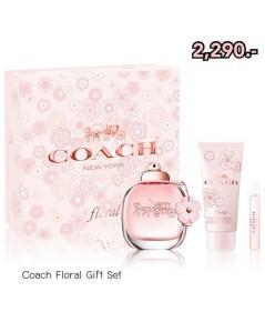 Pre-order *ฟรี EMS* COACH Floral Gift Set