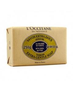 Pre-order : L\'occitane SHEA BUTTER EXTRA GENTLE SOAP - VERBENA 250g.