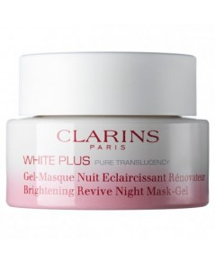 Pre-order : Clarins White Plus Pure Translucency Brightening Revive Night Mask-Gel 50ml.