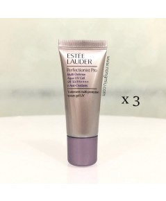 *15ml x 3 หลอด* Tester : Estee Lauder Perfectionist Pro Multi-Defense UV Aqua Gel SPF50/PA++++