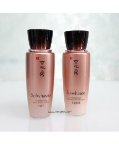 Tester : คู่ SULWHASOO Timetreasure Invigorating Water + Emulsion 25ml x 2
