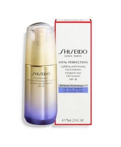 Pre-order : SHISEIDO Vital Perfection Uplifting and Firming Day Emulsion SPF30 75ml.