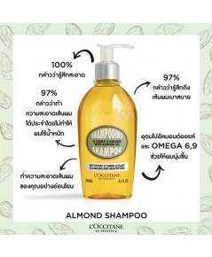 *พร้อมส่ง* L\'Occitane Almond Shampoo 240ml.