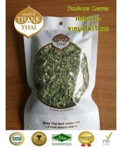 ใบเตย อบแห้งแบบแพ็ค 10 กรัม (Dried pandanus leaves)