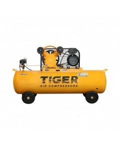 ปั๊มลม 1 HP 150 ลิตร พร้อมมอเตอร์ 3 HP 220V รุ่น TGA22-150M  TIGER