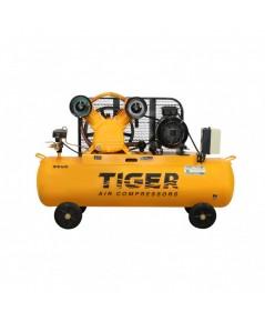 ปั๊มลม 5 HP 340 ลิตร พร้อมมอเตอร์ 5.5 HP 380V รุ่น TGA25-340M  TIGER