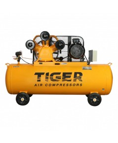 ปั๊มลม 10 HP 340 ลิตร พร้อมมอเตอร์ 10 HP 380V รุ่น TGA310-340M  TIGER