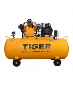 ปั๊มลม 15 HP 340 ลิตร พร้อมมอเตอร์ 15 HP 380V รุ่น TGA315-340M  TIGER