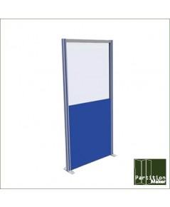 พาทิชั่นสำเร็จรูป(สูง 160 ซม.) partition ฉากกั้นห้อง แบบ ทึบ/ กระจกใส ราคา ขายส่ง
