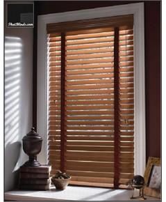 มูลี่ไม้บาสวูด (Wooden Blinds) ขายถูก สั่งทำตามขนาดหน้าต่าง รับประกัน 3 ปี