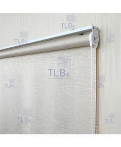 ม่านม้วน TLBs โปร่งแสงเคลือบพีวีซี (โซ่ดึง) ผ้า  Empress