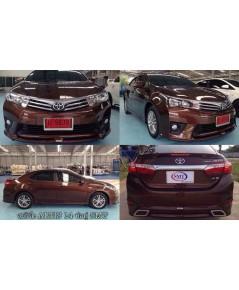 ชุดแต่ง Toyota Altis 2014 SMT
