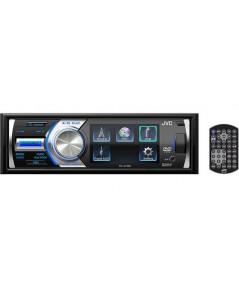 JVC KD-AV400 DVD CD MP3 USB หน้าจอ 3 นิ้ว ดูหนัง ต่อกล้องหลังได้