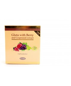 Gluta With Berry And Grapeseed Extract กลูต้าออลอินวัน Gluta All in One