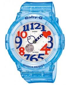 นาฬิกาผู้หญิง Casio Baby-G Neon Illuminator รุ่น BGA-131-2B