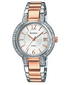 นาฬิกาผู้หญิง Casio Sheen รุ่น SHE-4805SG-7A ของใหม่ ของแท้