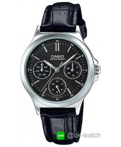 นาฬิกาข้อมือผู้หญิง Casio standard รุ่น LTP-V300L-1A ของใหม่ ของแท้