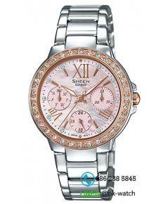 นาฬิกาข้อมือผู้หญิง Casio Sheen รุ่น SHE-3052SG-4A