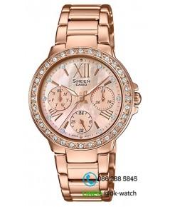 นาฬิกาข้อมือผู้หญิง Casio Sheen รุ่น SHE-3052PG-9A