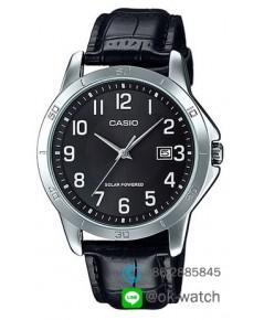 นาฬิกาผู้ชาย Casio Solar Power รุ่น MTP-VS02L-1B ของใหม่ ของแท้