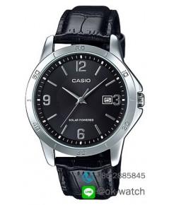 นาฬิกาผู้ชาย Casio Solar Power รุ่น MTP-VS02L-1A ของใหม่ ของแท้