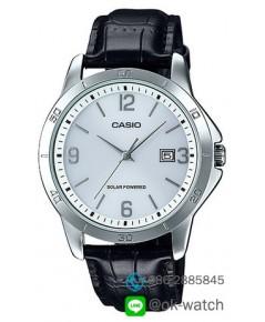 นาฬิกาผู้ชาย Casio Solar Power รุ่น MTP-VS02L-7A ของใหม่ ของแท้