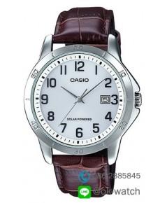 นาฬิกาผู้ชาย Casio Solar Power รุ่น MTP-VS02L-7B ของใหม่ ของแท้
