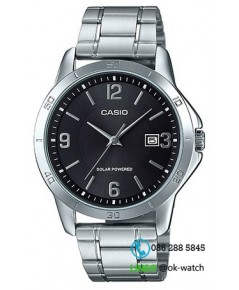 นาฬิกาผู้ชาย Casio Solar Power รุ่น MTP-VS02D-1A ของใหม่ ของแท้