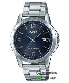 นาฬิกาผู้ชาย Casio Solar Power รุ่น MTP-VS02D-2A ของใหม่ ของแท้