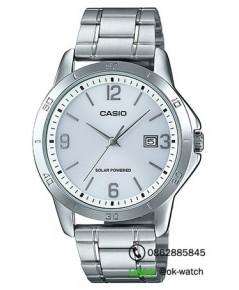 นาฬิกาผู้ชาย Casio Solar Power รุ่น MTP-VS02D-7A ของใหม่ ของแท้
