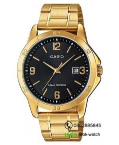 นาฬิกาผู้ชาย Casio Solar Power รุ่น MTP-VS02G-1A ของใหม่ ของแท้