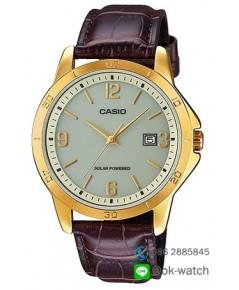 นาฬิกาผู้ชาย Casio Solar Power รุ่น MTP-VS02GL-9A ของใหม่ ของแท้