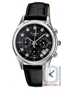 นาฬิกาผู้หญิง Casio Sheen Chronograph รุ่น SHE-5023L-1A ของใหม่ ของแท้