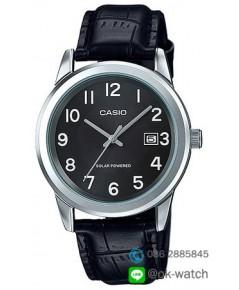 นาฬิกาผู้ชาย Casio Solar Power รุ่น MTP-VS01L-1B1 ของใหม่ ของแท้